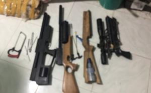 Thuê nhà để chế tạo, sản xuất súng trái phép