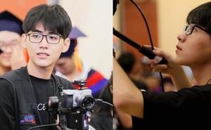 Đang tác nghiệp, chàng cameraman sinh năm 2k1 bị chụp lén, ai ngờ lại gây bão vì quá đẹp trai