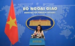 Trung Quốc tập trận ở Biển Đông, đưa tàu chiến ra đá Subi: Việt Nam kiên quyết phản đối