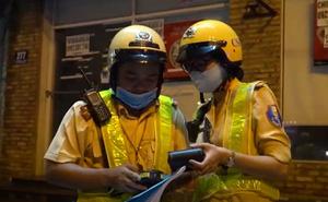 Video: Theo chân đội nữ CSGT kiểm tra nồng độ cồn người tham gia giao thông ở TP.HCM