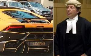 Chiếc xe sang Lamborghini bỗng dưng nổi tiếng vì biển số độc khiến chủ xe phải ra hầu tòa