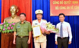 Thượng tá Hồ Việt Triều làm Phó GĐ Công an Cà Mau
