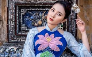 Mỹ nhân có mái tóc đẹp nhất Hoa hậu Việt Nam 2016 duyên dáng trong tà áo dài