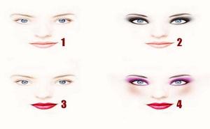 Chọn 1 trong 4 phong cách trang điểm sau để biết sức mạnh nội tâm của bạn: Siêu quyến rũ hay bảo thủ?