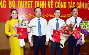 Công bố quyết định của Thủ tướng Chính phủ phê chuẩn 3 Chủ tịch, Phó Chủ tịch UBND tỉnh