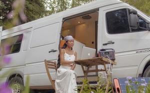 Đôi vợ chồng người Việt đầu tư gần 600 triệu đồng mua chiếc xe Van, tự xây bếp và phòng ngủ rồi đưa nhau đi khắp nước Mỹ, mỗi sáng thức dậy là một view khác nhau