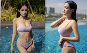 Loạt ảnh bikini nóng bỏng của MC Thanh Trúc, vòng eo 54 cm gây chú ý
