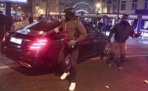 Bỉ: 500 người phóng hỏa ở thủ đô, ném đá tấn công chuyên xa của Quốc vương