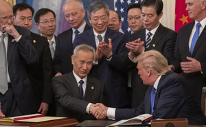 """Kỳ vọng là """"Thỏa thuận ngừng bắn"""" nhưng Mỹ-Trung nghi kỵ cao nhất sau 1 năm có thỏa thuận thương mại"""
