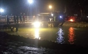 Giăng lưới tìm kiếm bé trai 9 tuổi rơi xuống sông đào