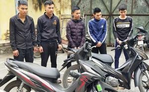 Bắt nhóm thanh niên do Bảo chó cầm đầu đuổi bắn người gây náo loạn đường phố