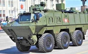 Lực lượng phòng chống NBC Nga được trang bị xe trinh sát mới