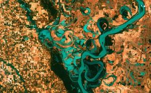 Sông Mỹ đang chuyển từ màu xanh lam sang vàng và xanh lục: Sự 'bất thường' này đến từ đâu?