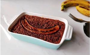 Thèm chuối mà sợ tăng cân thì làm ngay món bánh này, ăn thả ga dáng vẫn đẹp