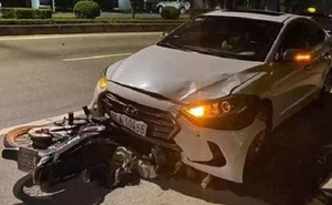 Thanh tra giao thông lái xe ngược chiều tông chết người đi làm bình thường sau khi bị khởi tố