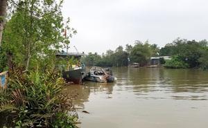Một cảnh sát mất tích trên sông Hậu khi làm nhiệm vụ
