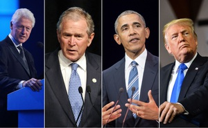 """Tổn hại nghiêm trọng tới nước Mỹ: Các cựu TT Mỹ """"kinh hoàng"""", """"xấu hổ"""" trước cảnh hỗn loạn ở Điện Capitol"""