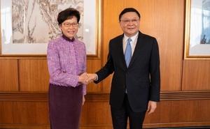 Lãnh đạo Thâm Quyến đột ngột hủy gặp bà Carrie Lam, không hẹn tái ngộ: Có chuyện xảy ra ở Bắc Kinh?