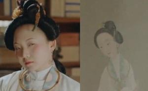 Nữ diễn viên Trung Quốc đăng một bức ảnh tự sướng, dân mạng giật mình khi soi vào tranh cổ: Cô đã xuyên không sao?