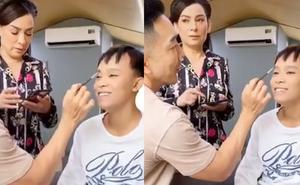 Netizen khui clip Phi Nhung hỏi ý kiến Hồ Văn Cường trước khi rút tiền làm từ thiện, phản ứng của nam ca sĩ ra sao?