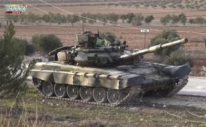 Quân đội Syria được nhận thêm xe tăng T-90