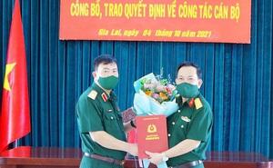 Triển khai quyết định của Bộ Quốc phòng về công tác cán bộ