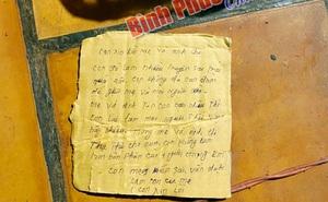 """Bức thư tuyệt mệnh viết trên mảnh bìa carton ở hiện trường thanh niên 25 tuổi tử vong: """"Mong kiếp sau vẫn được làm con của mẹ"""""""