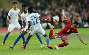 """Nhận bàn thua đau phút bù giờ, đội tuyển Indonesia """"tim đập chân run"""" tại vòng loại Asian Cup"""