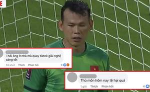 'Ông trùm MXH' Tấn Trường bị netizen quá khích tấn công sau trận Việt Nam - Trung Quốc: 'Bớt livestream TikTok lại hoặc giải nghệ đi'