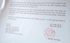 Tài xế trình văn bản do nguyên lãnh đạo tỉnh đã nghỉ hưu 6 năm ký để 'thông chốt'