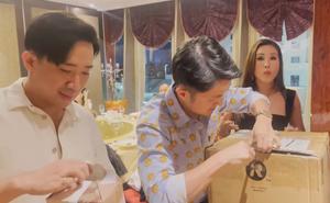 Sinh nhật Trấn Thành, hoa hậu Thu Hoài vất vả mua quà đắt tiền: Tôi khổ sở với nó trăm bề!