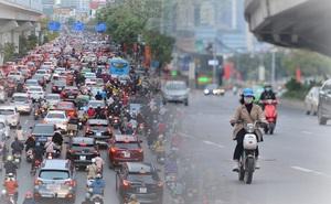 """Hà Nội trong ngày làm việc đầu tiên của năm mới: Nhiều tuyến đường thông thoáng khác lạ, đường Nguyễn Trãi """"thất thủ"""""""
