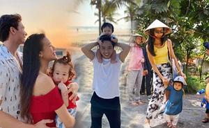 """Vũ trụ nhóc tỳ Vbiz ngày Tết: Ái nữ hào môn nhà Đông Nhi và Đàm Thu Trang chiếm spotlight, con gái Suboi """"chất"""" như mẹ!"""