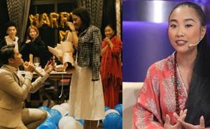 Từng chứng kiến cặp đôi cầu hôn, Đoan Trang giật mình khi nhận tin nhắn từ vợ sắp cưới của cố diễn viên Hải Đăng
