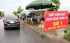 Đi về từ vùng dịch Hải Dương nhưng không khai báo, 2 người ở Lai Châu bị xử phạt 20 triệu