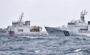 """Nhật Bản tuyên bố sẽ """"nổ súng gây nguy hại"""" nếu Hải cảnh Trung Quốc đổ bộ lên quần đảo Senkaku"""