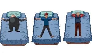 Bạn nằm ngủ như thế nào? Tư thế ngủ sẽ tiết lộ tính cách của bạn