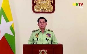 """Thống tướng Myanmar lần đầu phát biểu toàn dân, khẳng định chính quyền ông """"khác biệt"""", cam kết """"sửa sai"""""""