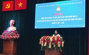Người ứng cử đại biểu Quốc hội phải ghi rõ chỉ có một quốc tịch là quốc tịch Việt Nam