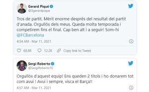 Cầu thủ Barca tự hào sau khi bị loại ở Cúp C1