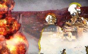 Syria rực lửa, Nga mạnh tay ra đòn hòng thiết lập trật tự