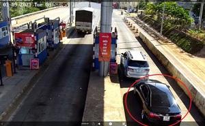 CLIP: Xế hộp xịn 3 lần trốn trạm thu phí Liên Đầm trên Quốc lộ 20