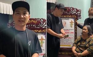 Lâm Hùng xúc động, trao hơn 100 triệu cho mẹ nam ca sĩ qua đời trên xe cấp cứu vì bạo bệnh