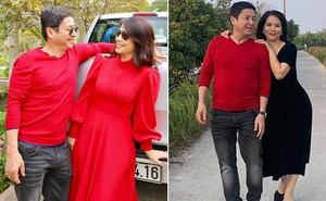 Hình ảnh tình tứ của Chí Trung và bạn gái doanh nhân, kém 17 tuổi