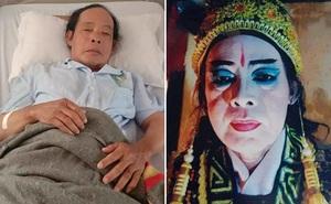 Nghệ sĩ cải lương chạy xe ôm kiếm sống, bị đột quỵ