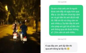 12h đêm, xe chết máy phải gọi Grab đẩy về, cô gái bất ngờ vì hành xử kì lạ của tài xế