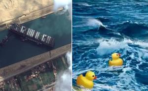Công ty vận hành siêu tàu hàng kẹt ở kênh đào Suez từng khiến đại dương ngập trong đồ nhựa suốt gần 2 thập kỷ
