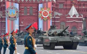 Nga tổ chức diễu binh lớn với hơn 12,5 nghìn người và 76 máy bay