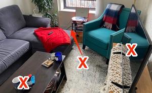 8 'tác nhân' gây stress trong phòng khách mà bạn không biết: Chuyên gia chỉ cách trị tận gốc