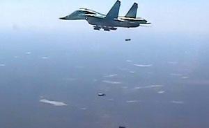 """Điều Su-34 ồ ạt ném bom lực lượng thân Thổ, Nga """"trút giận"""" ở Syria"""